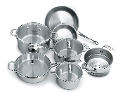 Cuisinox Elite® 11 piece Cookware Set
