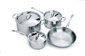 Cuisinox Elite® 7 piece Cookware Set
