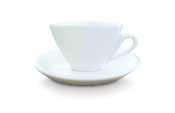 Cuisinox 10 oz Cappuccino Cup and Saucer (set of 6)