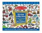 Melissa and Doug Sticker Collection - Blue