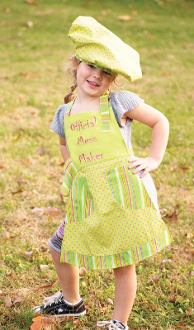 Izzy Official Mess Maker Child's Apron