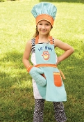 Lil Hoot Apron Set 3 pc
