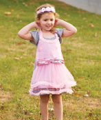 IZZY Ballerina Childs Play Dress Up 2pc SET
