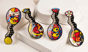 Romero Britto Spoon Rest - Choice of 4 Styles