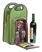 Picnic Gift Symphony Deluxe Two Bottle Wine Carrier
