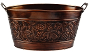Old Dutch Embossed Heritage Party Tub