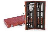 4 PC CHAIRMAN BBQ TOOL SET