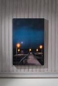 Lighted Pier Canvas