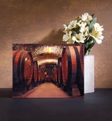 Lighted Wine Cellar Canvas