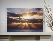 Lighted Beams of Hope Canvas