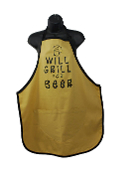 Wild Hare Designs Apron - Will Grill For Beer