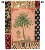 Caribbean Crest Wall Hanging Tapestry