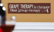 Grape Therapy Wall Art
