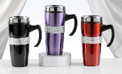 Stainless Steel Glitter Coffee Mug