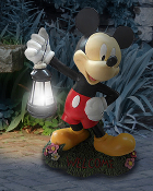 Mickey Mouse Latern Statue 15in- LED lit