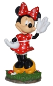 Waving Minnie Mouse Statue