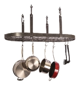 Four Point Oval Pot Rack