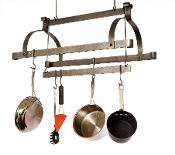 Three Bar Hanging Ceiling Rack