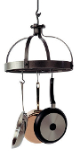 Dutch Crown Hanging Pot Rack