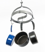 Yin-Yang Hanging Pot Rack
