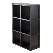 Shelf 3 x 2 Cube with Wainscoting Panel