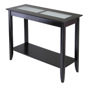 Syrah Console/Hall Table with Frosted Glass