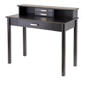 Liso 2pc Home Office Set, Writing Desk with Hutch