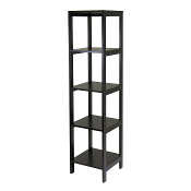 Hailey Tower Shelf, 5-Tier, Modular