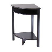 Liso Corner Table, Cube Storage and Shelf
