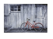 Canvas Bicycle Print