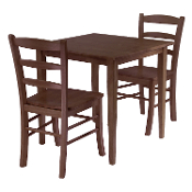 Groveland 3-Pc Square Dining Table with 2 Chairs