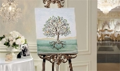 The Signing Tree Canvas Wall Print, Our Wedding