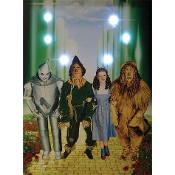 The Wizard Of Oz Lighted Canvas Wall Art