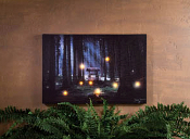 Enchanted Forest Lighted Canvas