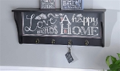 Chalk Talk Typography Wall Hooks