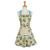 Design Imports In Bloom Ruffled Apron