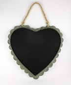 Tin Scalloped Edge Chalk Board
