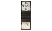 Gift Craft Antique Inspired Wall Clock with Calendar