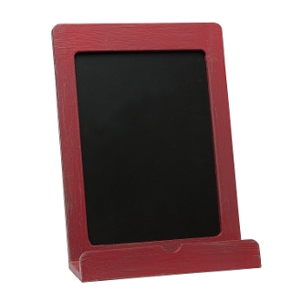 C.R. Gibson Wood Tablet/Recipe Book Holder, Red