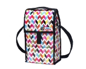 Freezable Double Wine Cooler Bag with Zip Closure, Ziggy