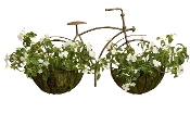 Giftcraft Iron Bicycle Design Plant Holder