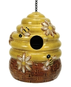 Nature's Garden Bee Hive Birdhouse