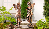 Giftcraft Fairy statues, Set of Two