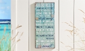 Giftcraft Shore Rules Decorative Wall Sign