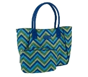 Sachi Lunchin' Ladies Tote with Accessory Pouch in 4 Colors