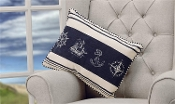 Nautical Designs Decorative Throw Pillow