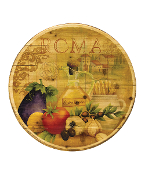 "20"" Wooden lazy Susan, Roma"