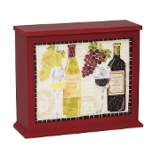 Wine Mosaic Light Box Lamp