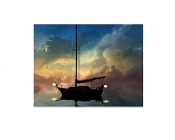 Radiance Lighted Canvas Wall Art, Light to Guide you