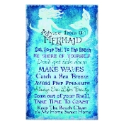 Mermaid Rules Wall Plaque